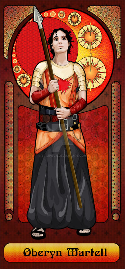 Oberyn Martell Art