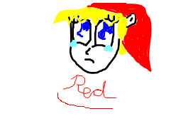 Sad Red by Ketgirl1992
