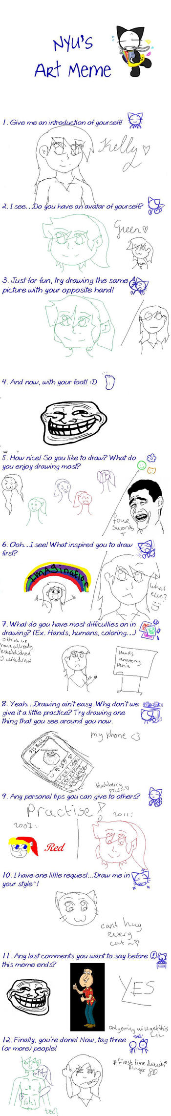 Nyu's Art Meme REDONE by Ketgirl1992