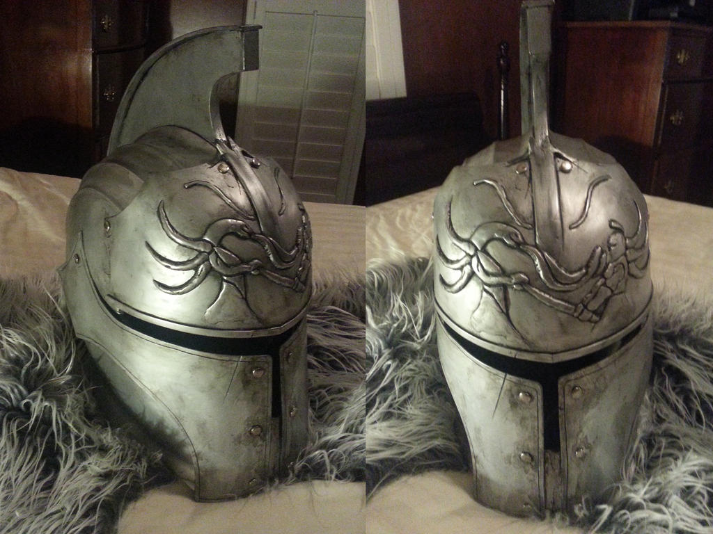 Dark Souls 2 Finished Warrior Helmet by loveshina