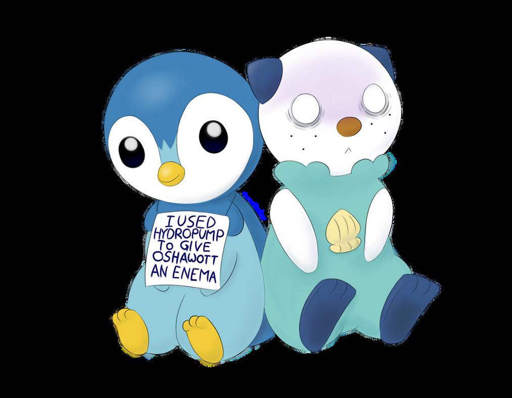 Piplup vs Oshawott love Triangle | Anime Amino |Pokemon Piplup And Oshawott