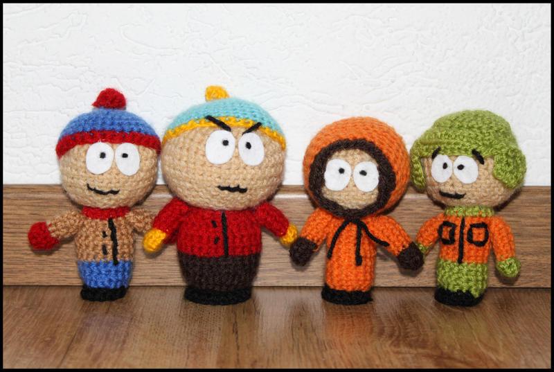 Amigurumi Cartman : South Park amigurumi by MyLittleDreamWorld on DeviantArt