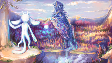 Blind Forest by Felix-fox