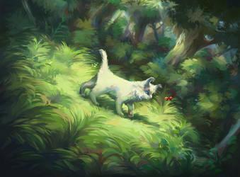Forest trail by Felix-fox