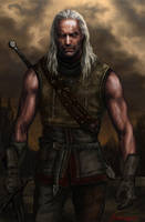 Witcher art by Bathorygen