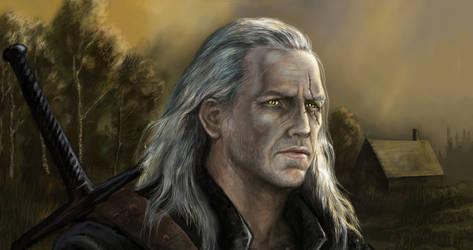Geralt of rivia portrait