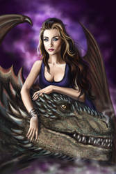 Vladislava and Dragon