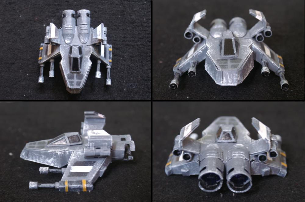 The Pyro GX Model 4 view by khaiwraith
