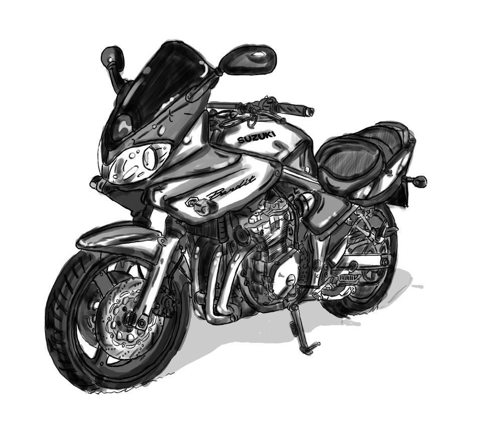 Fast Suzuki GSF 600 Bandit K2 By HellBitch Pl