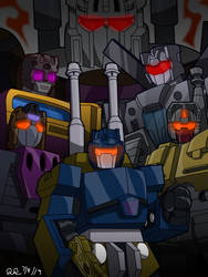 Combaticons by MrRose98