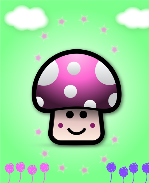 Mushroom by dawudfreed