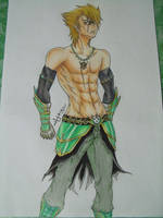 Random Armored Guy by Zenemijil