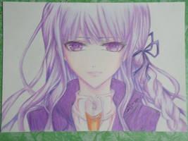 Kirigiri Kyouko by Zenemijil