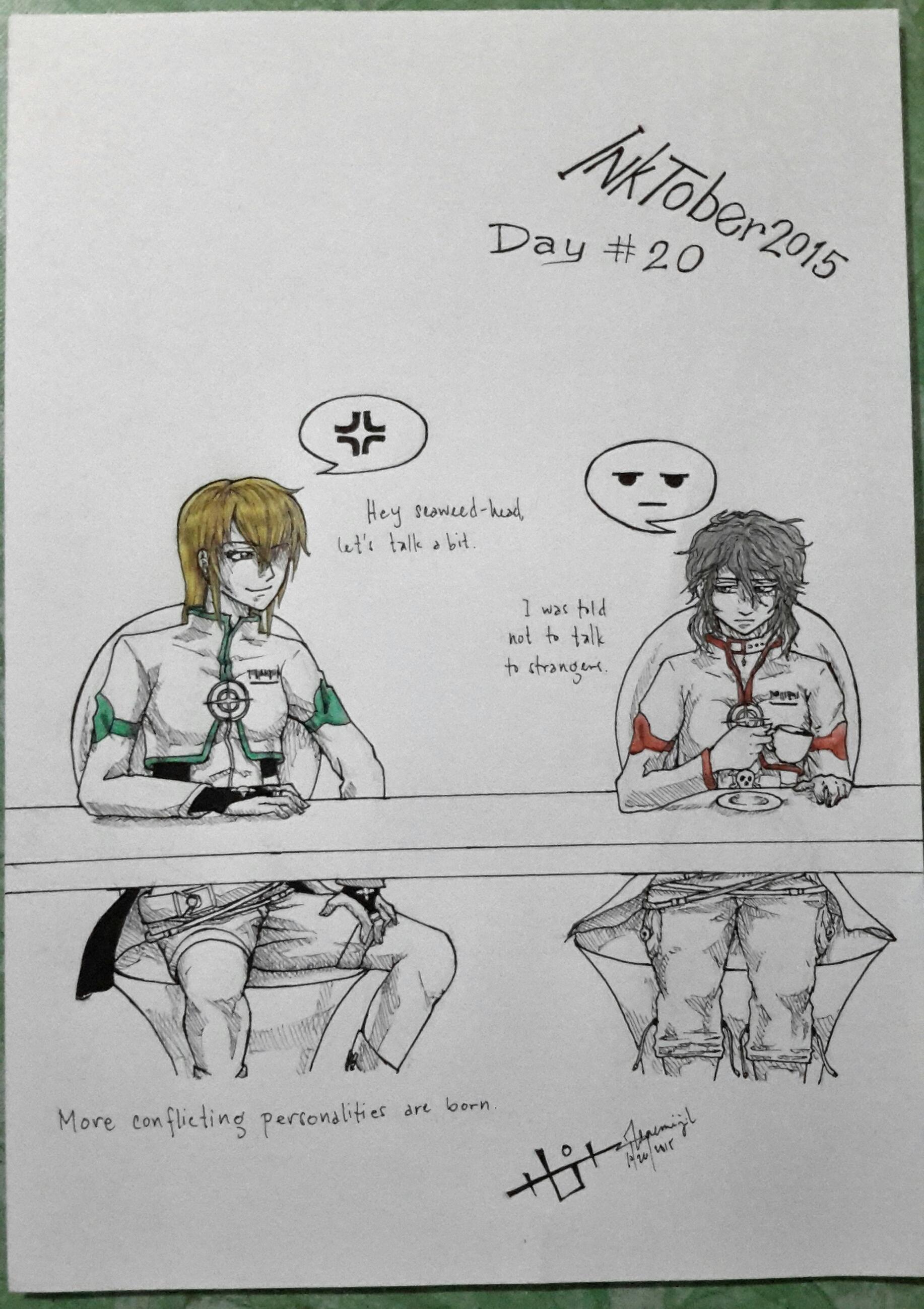Inktober day20 by Zenemijil