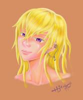 Portrait practice/experiment by Zenemijil