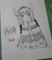 Fanart - Kanna by Zenemijil