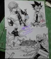 Yu Gi Oh + Tokyo Ghoul x D.Grayman by Zenemijil