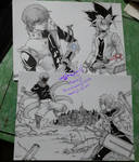 Yu Gi Oh + Tokyo Ghoul x D.Grayman