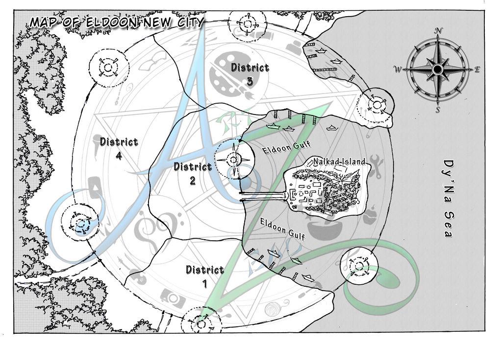 [D1] Eldoon New City Map by Zenemijil