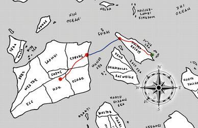 Route to ACA by Zenemijil