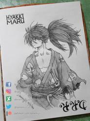 Hyakkimaru fan art by Zenemijil