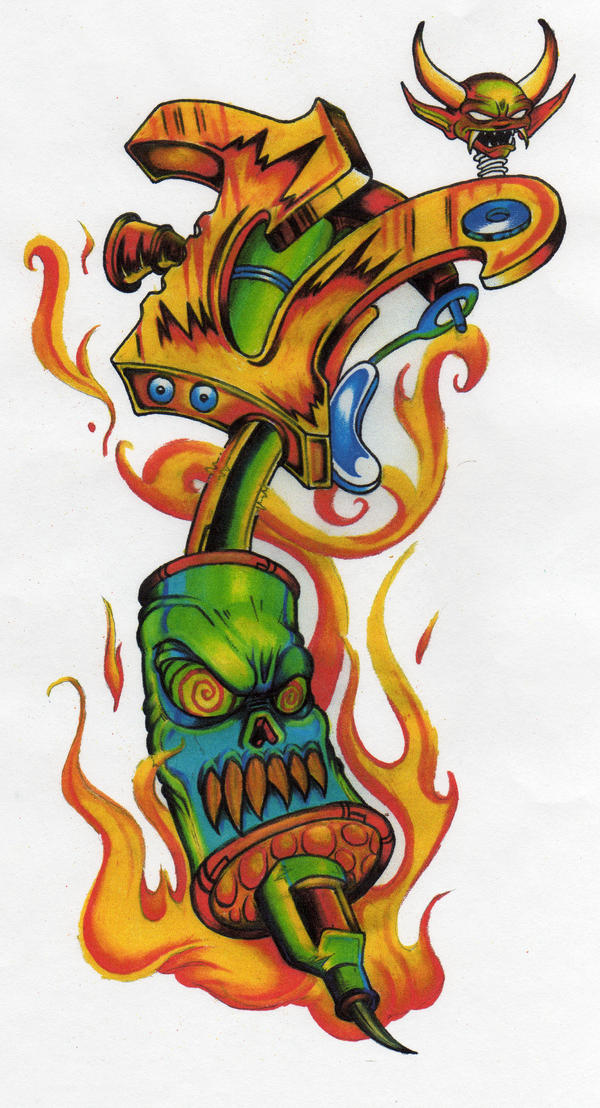 Tattoo Gun By Docdroe On Deviantart