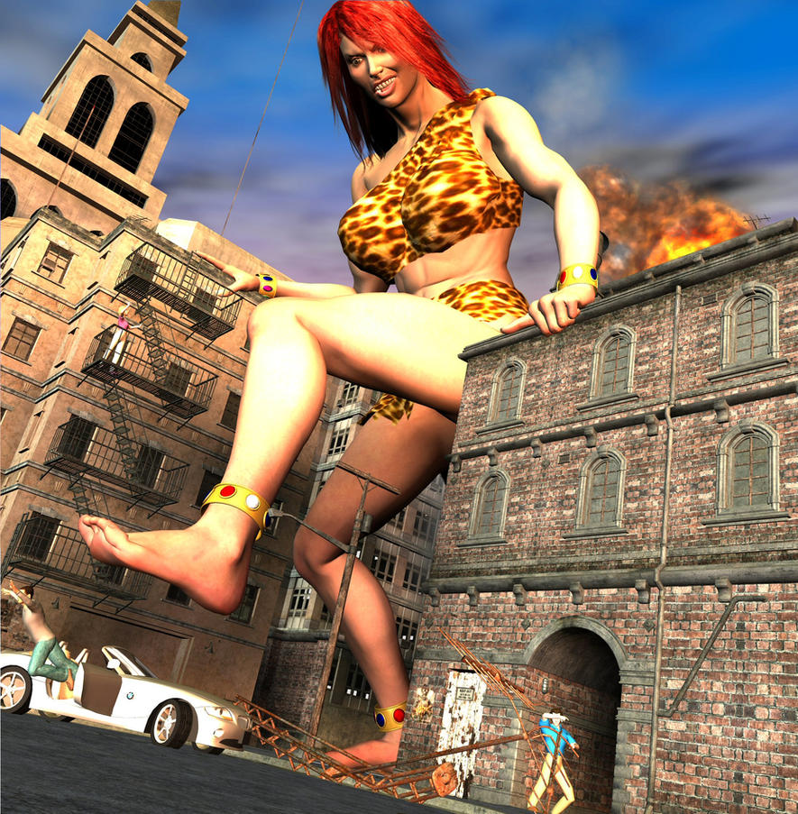Giantess woman 3d xxx comic