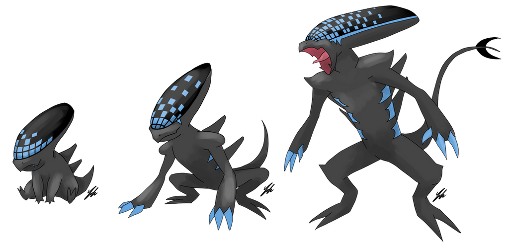 Xenomorph Pokemon by Iakop on DeviantArt