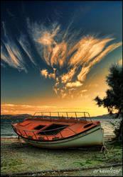 Boat in land by arxaiologos2008
