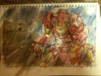 Iron Man by artandthoughts