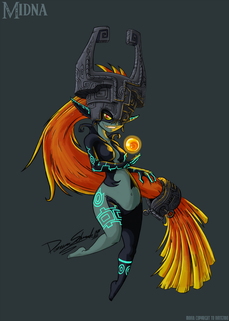 Twilight Princes Midna Color by Duaxer