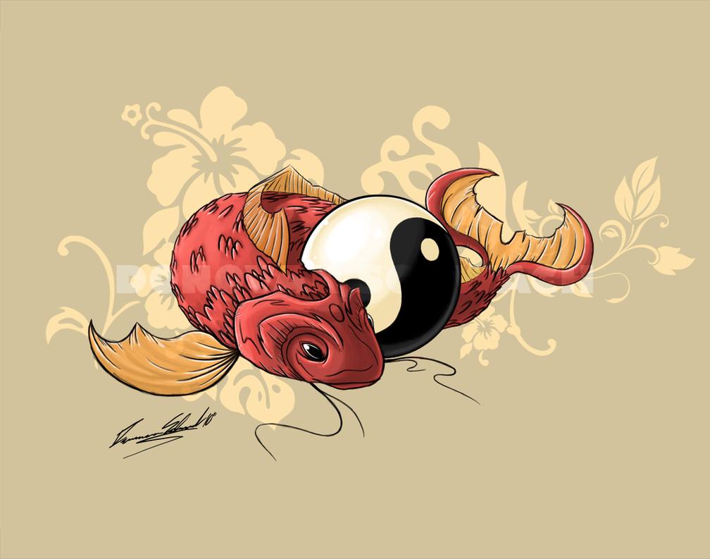 Koi Fish by Duaxer on DeviantArt