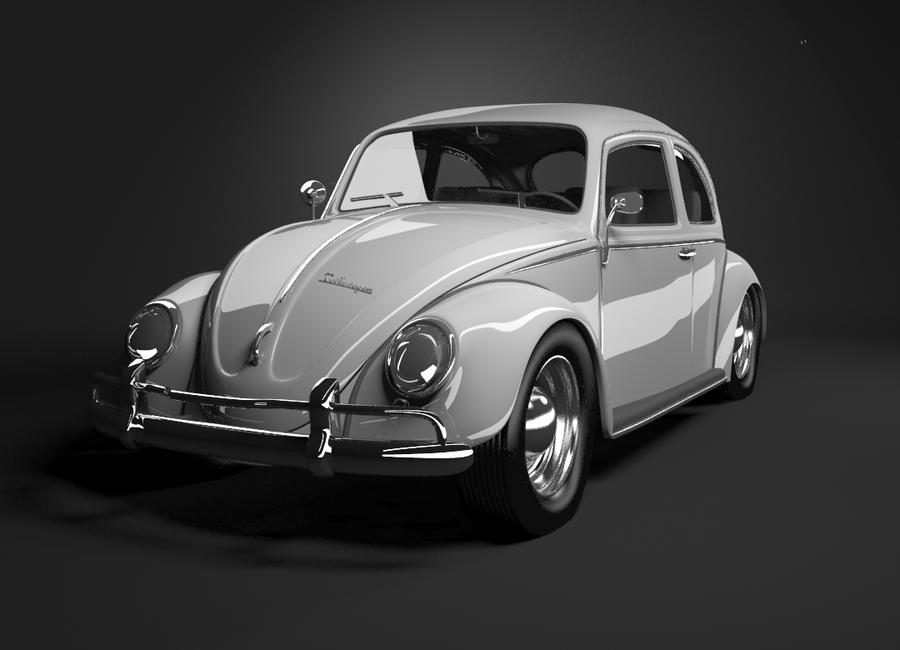 Vw Beetle Classic 3d Model By Eccentric003 On Deviantart
