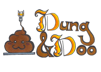 Dung and doo by MetallicLlamaKid