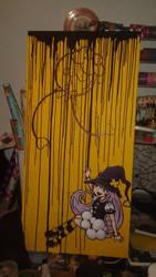 Graffiti Drifloon Witch by MetallicLlamaKid