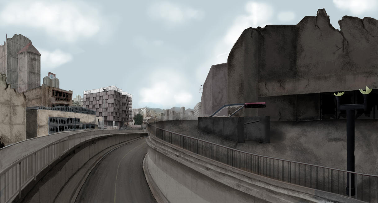 Post Apocalyptic City by charliedeft on DeviantArt