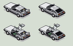 Delorean by unusable