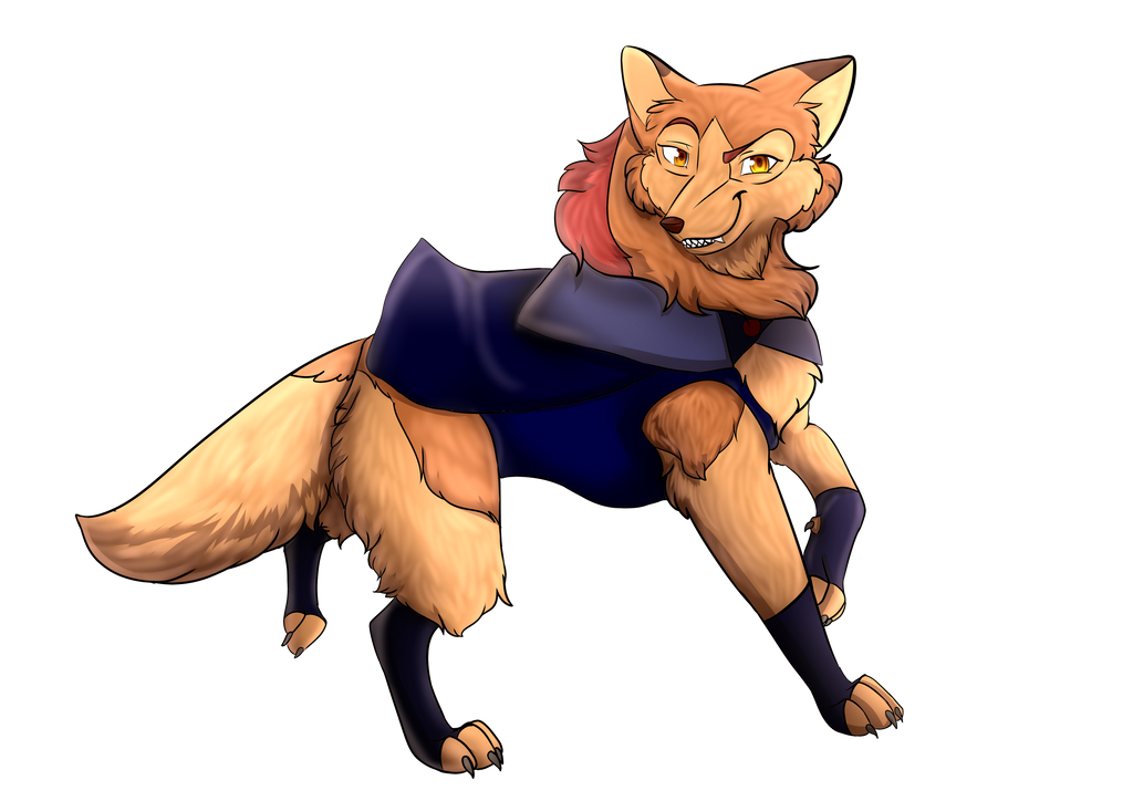 Erelis The Vampire Wolf by Fenris0604