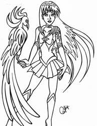 SailorScoutFan101's Sailor Sun with Phoenix Linear