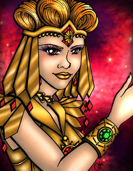 Galaxia is back Colored Version