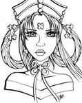 Princess Fireball : Princess Kakyuu Lineart