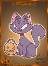 Black Kitty by Fificat