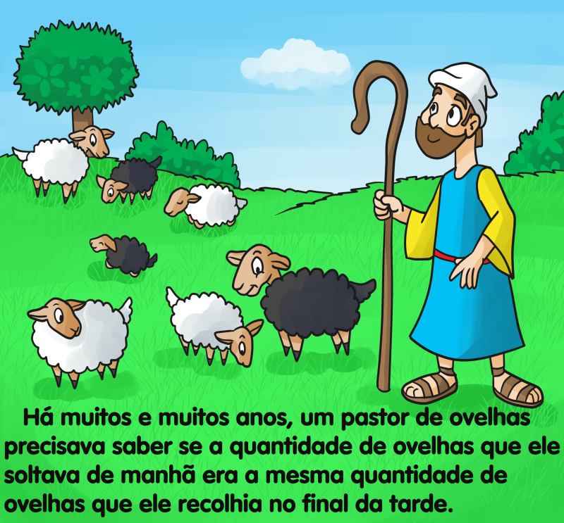 O pastor e as ovelhas by Fificat