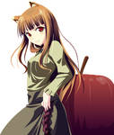 Spice and Wolf : Horo Vector
