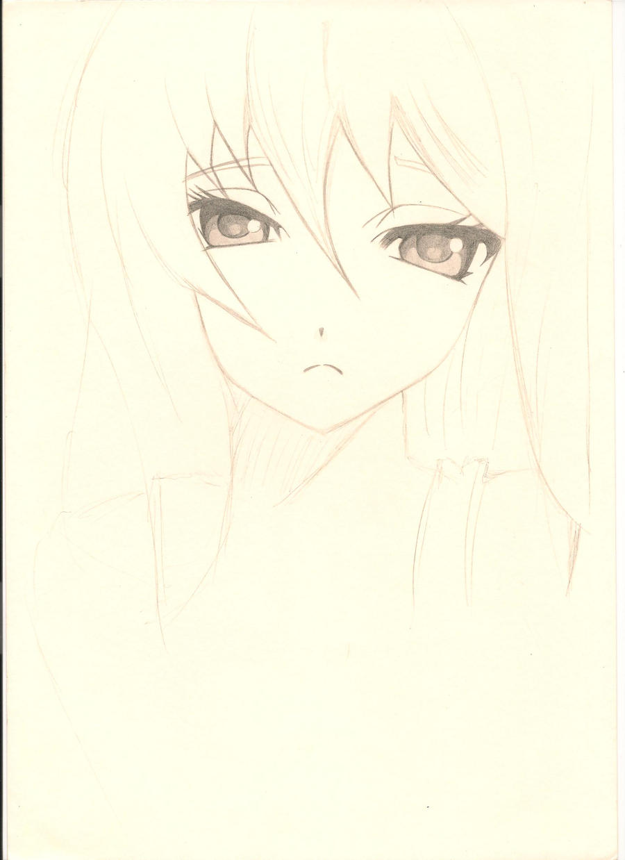 Anime Girl Sketch 7 Face By Takeshi-PosesseD On DeviantArt
