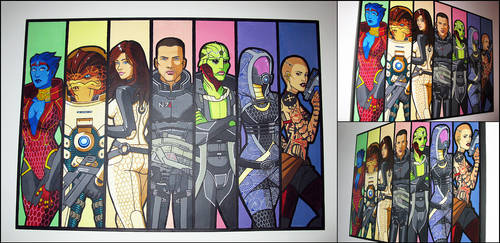 Mass Effect 2 by pixel-ninja