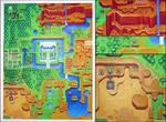 Zelda 3 map