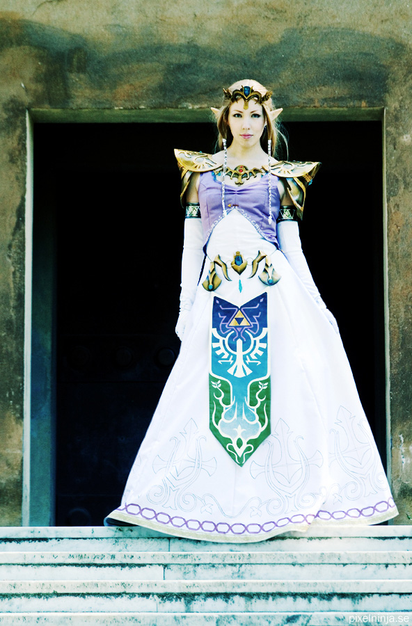 Zelda cosplay by pixel-ninja