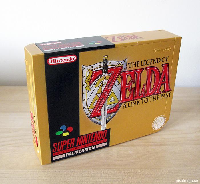 Wii Console Airbrush Zelda 3 by pixel-ninja