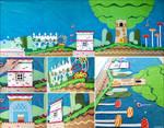 Kirby's Epic Yarn cloth